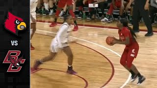 Louisville vs. Boston College Women's Basketball Highlights (2019-20)