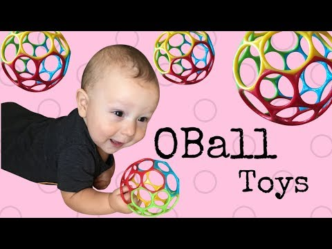 Joshy's OBall Toy Review - Only THE BEST Baby Ball Ever!