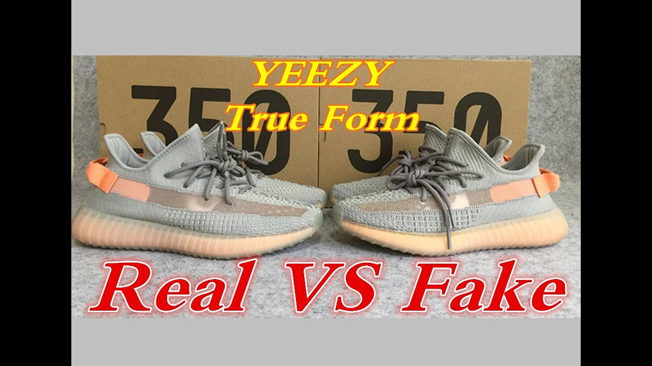 1e607a8dc8153 REAL VS FAKE YEEZY BOOST 350 V2 TRUE FORM - YouTube