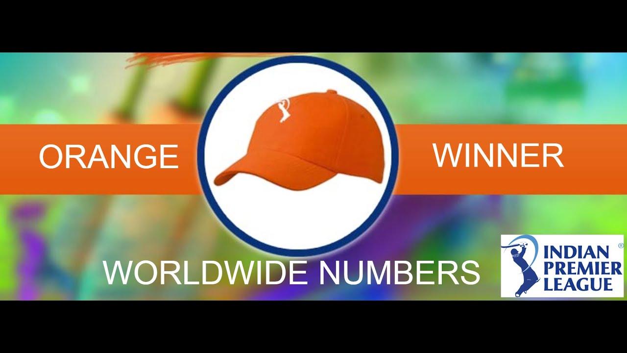 Top batsman score highest run in Ipl Orange cap winner ...