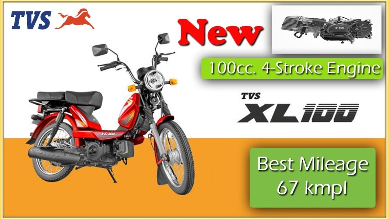NEW TVS XL 100 || MORE MILEAGE || MORE POWERFUL || BEST BUDGET ...