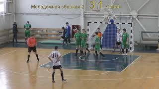 """Футбол """"Молодёжная Сборная - 2"""" 5:3 """"Сокол"""" - Голы"""