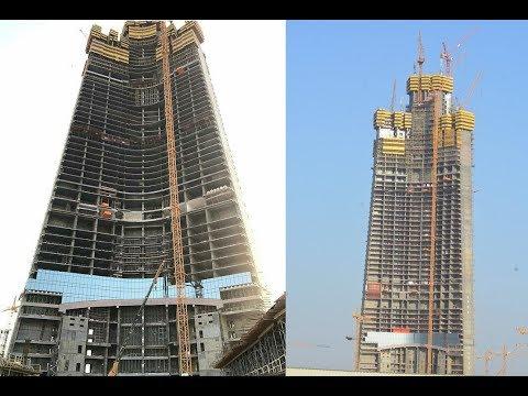 Jeddah / Kingdom Tower - World's Tallest Building - 1000m+ Tall Building! October 2017 Update