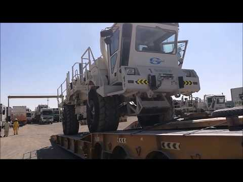 Oil & Gas Rigging Trucks - UAE to Africa