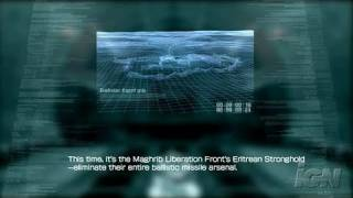 Armored Core 4 PlayStation 3 Gameplay - Sure is sandy.