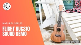 Flight NUC310 Ukulele Sound Demo