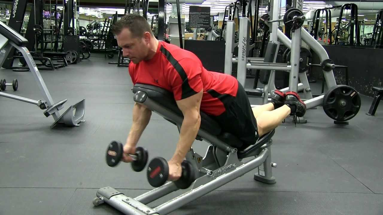 Charming Spider Curls Incline Bench Part - 12: Incline Dumbbell Prone Hammer Bicep Curl - YouTube