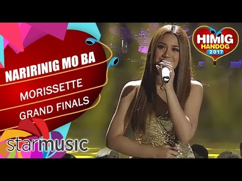 Morissette - Naririnig Mo Ba   Himig Handog 2017 (Grand Finals)