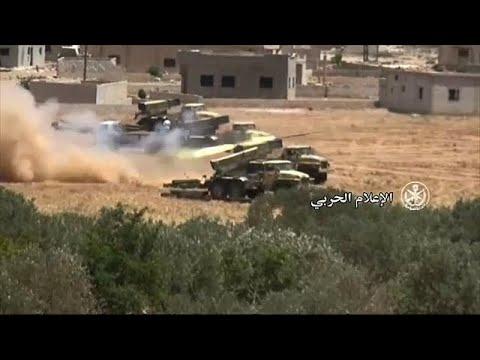 Ejército sirio avanza en su ofensiva...