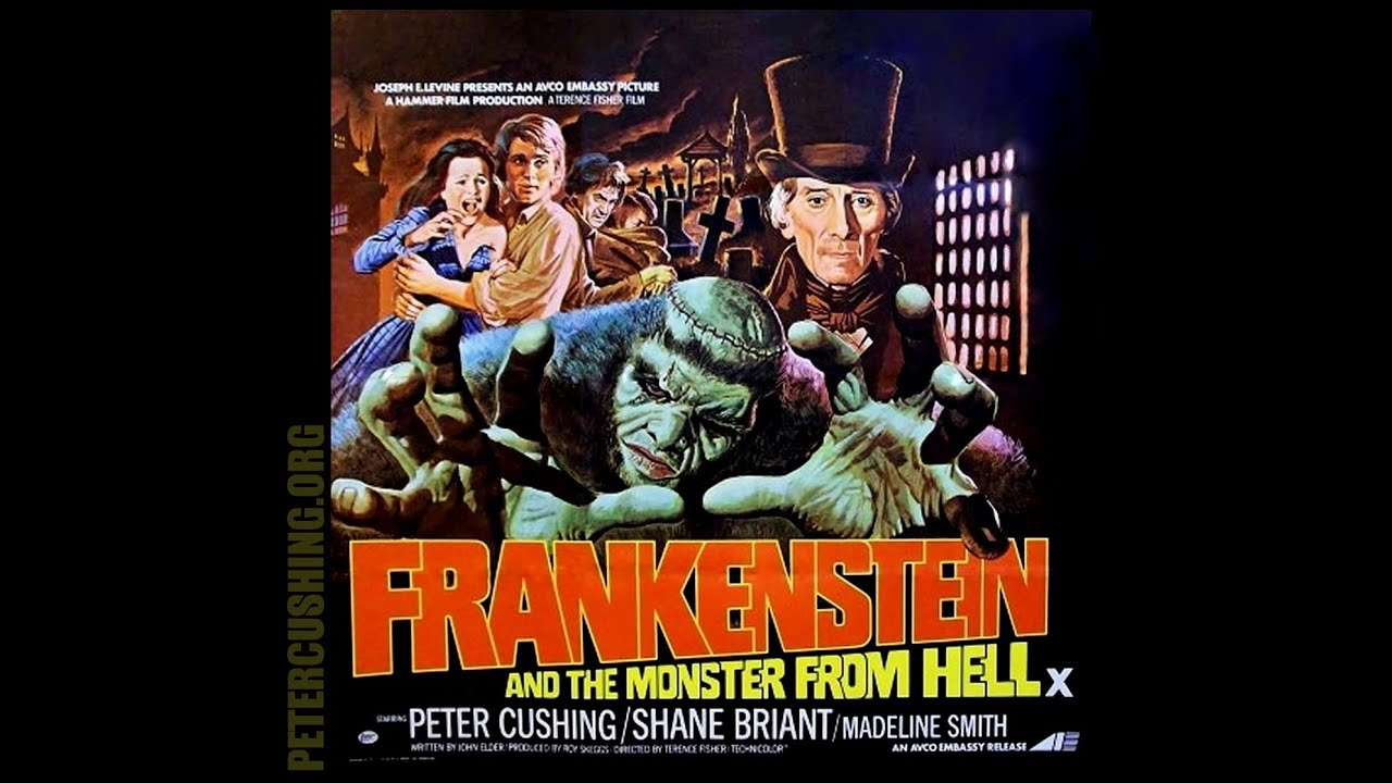 frankenstein and the monster from hell 1974 trailer