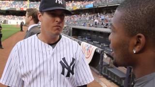 Quai Jefferson Honored by New York Yankees