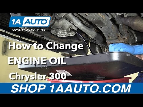How to Replace your Engine Oil 2006 Chrysler 300