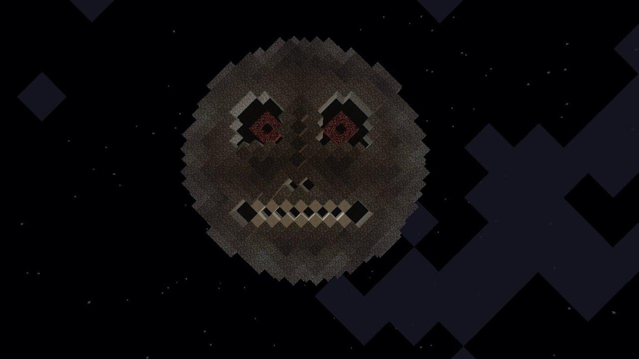 Creeper Wallpaper Hd Minecraft Tutorial 3 Majora S Mask Moon Youtube