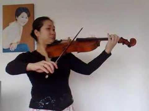 J.S.Bach sonate 1- violin solo