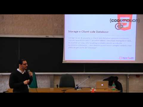 Hackers vs Developers HTML5 Security, by Simone Onofri - Codemotion Rome 2013