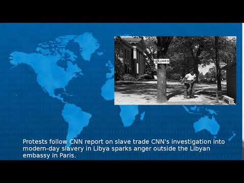 Protests Follow Cnn Report On Slave Trade