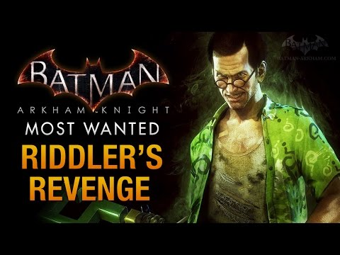 Batman: Arkham Knight - Riddler