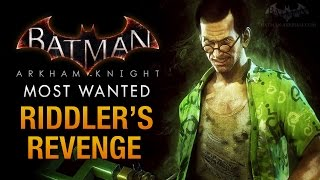 Batman: Arkham Knight - Riddler's Revenge & Riddler Boss Fight