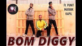 BOM DIGGY | Zack knight x Jasmin walia | Dance Choreography | Punit Parmar | EDA Team