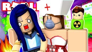 SOMETHING SCARY IS HAPPENING... ESCAPE THE EVIL HOSPITAL IN ROBLOX!