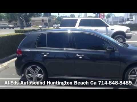2014 Volkswagen Golf GTI with Limo Tint