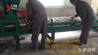 Artificial cultural stone production line