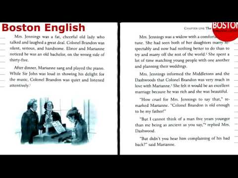 English listening practice       SENSE AND SENSIBILITY      Learn english audiobook