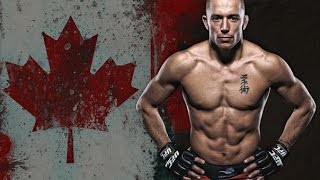 GEORGE ST PIERRE HIGHLIGHTS