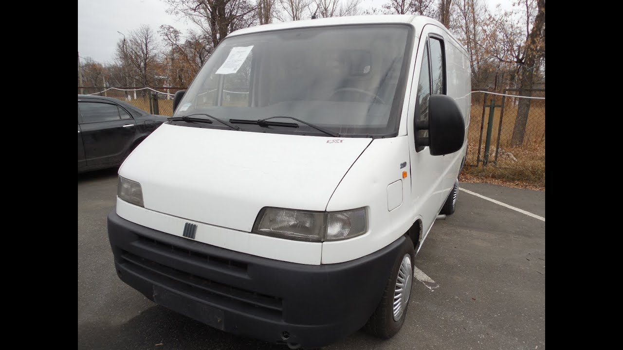 Fiat ducato youtube for Interieur fiat ducato 2000