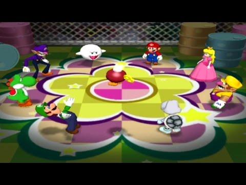 Mario Party 7 - All 8 Player & Rare Minigames