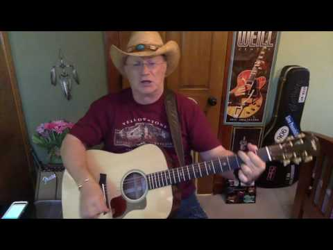 2081 -  Pissing In The Wind  - Jerry Jeff Walker vocal & acoustic cover & chords