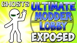 """COD Ghosts - """"ULTIMATE MODDER LOBBY"""" Exposed! (HACKERS EXPOSED) Call of Duty"""