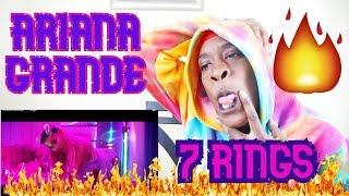 Ariana Grande - 7 rings REACTION VIDEO | KINGTV VLOGS