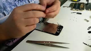 Быстрая замена дисплейного модуля iphone 7