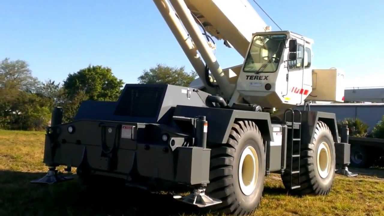 1999 terex rt 175 75 ton rough terrain crane youtube rh youtube com Terex RT Crane Terex RT Crane
