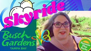 Skyride | Busch Gardens Fat Friendly Rides | Info for Accessibility, Mobility and Sensory Concerns.