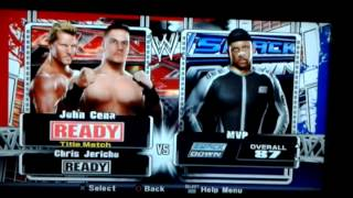Smackdown vs Raw 2009 roster and arenas