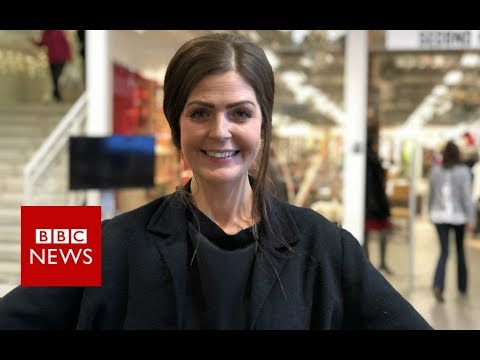 The shopping mall where everything is recycled - BBC News