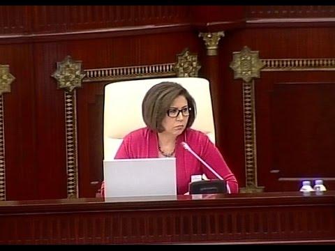 Bahar Muradova - Milli Məclisin iclası 29.04.2016