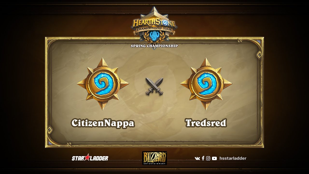 CitizenNappa vs Tredsred | 2017 HCT Asia-Pacific Spring Playoffs (04.06.2017)