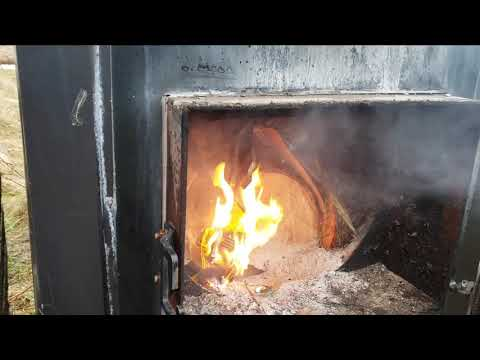 Heating a Raised Bed With a Wood Boiler - Log Raised Bed Part 6