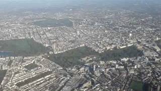 View of London from the Air, Landing at Heathrow