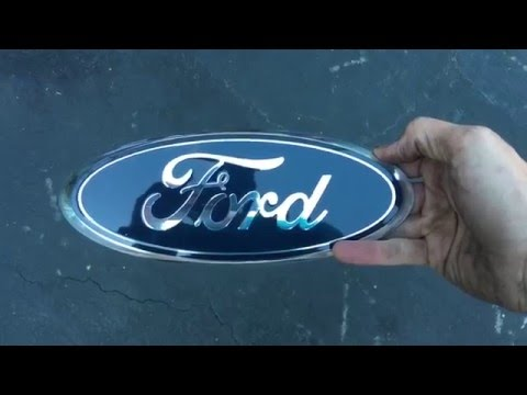 F-150 Tailgate Emblem Replacement