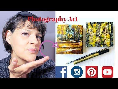 DIY Photography blocks ,encaustic photograhy art, christmas gift ideas