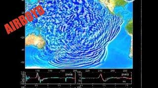Tsunami Wave Propagation Animation