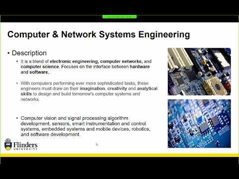 Which engineering degree is for me - Flinders University webinar series