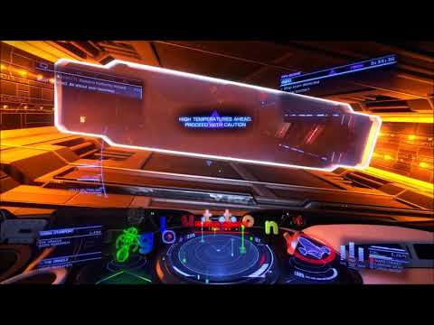 Station Attacked by Thargoid