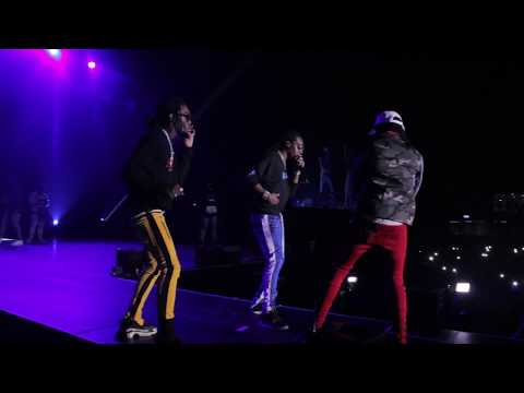 Migos Performs in Johannesburg South Africa