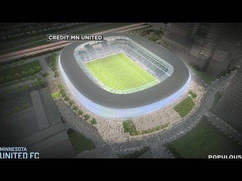 Minnesota United Unveil Design For Midway Stadium