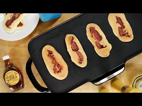 How to Make Pancacon: Pancakes and Bacon! | Get the Dish